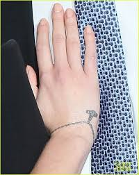 scarlett johansson bracelet wrist tattoo photo 8 2017 real