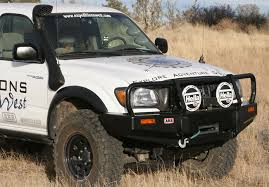 2002 toyota tacoma front bumper expeditions tacoma arb bumper front bull bar and winch mount