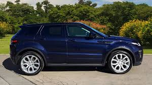 land rover evoque blue used land rover range rover evoque 2 0 td4 hse dynamic lux 5dr