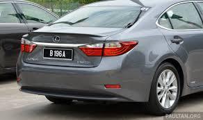 lexus es300h 2015 malaysian review 2013 lexus es250 and es300h sampled clublexus