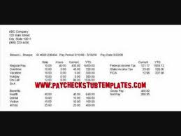 download u0026 create your own paycheck stubs youtube