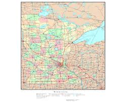 Wisconsin Usa Map by Maps Of Minnesota State Collection Of Detailed Maps Of Minnesota