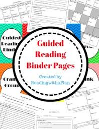 Guided Reading How To Organize Free Everything You Need To Organize Your Guided Reading Binder