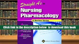read online straight a s in nursing pharmacology straight a s