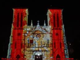 san fernando cathedral light show cathedral of san fernando exploring my life