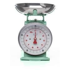 modern kitchen scales mint green vintage weighing scales pantone mint pinterest