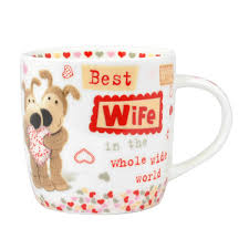boofle best wife in the world china mug in gift box anniversary
