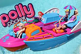 polly pocket boat frozen elsa barbie u0026 mermaid ariel crash