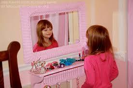Little Girls Play Vanity Flea Market Finds To Child U0027s Vanity U0026 Jewelry Organization