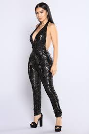 black sequin jumpsuit the thrill sequin jumpsuit black
