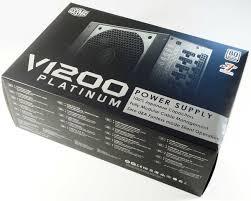 Cooler Master Test Bench Cooler Master V1200 Five Highly Efficient Power Supplies 1200 W