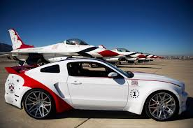 mustang designs ford builds one usaf thunderbirds edition ford mustang to be