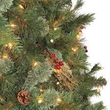 Martha Stewart Pre Lit Christmas Tree Manual by Martha Stewart Living 7 5 Pre Lit Paley Pine Christmas Tree