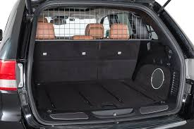 jeep wagoneer trunk travall tdg1489 pet barrier for 11 16 jeep grand cherokee wk