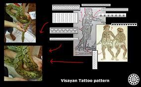 akopito visayan tattoo design the marking of snake and