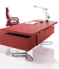 Leather Office Desk Leather Executive Office Desk Desk With Stainless Steel Frame