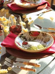 Houzz Mediterranean Kitchen Photos Hgtv Outdoor Mediterranean Red Table Setting Loversiq