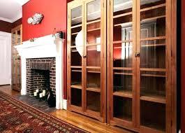 Bookcase With Door Apartment Bookshelves Bookcase With Door Apartment Interior Supply