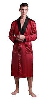 robe de chambre en lilysilk peignoir en soie homme robe de chambre longue avec ceinture