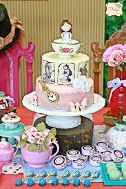 Alice In Wonderland Theme Party Decorations Kara U0027s Party Ideas Alice In Wonderland Tea Party