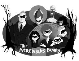 savage sketches u2014 the incredibles addams family mash up i just