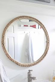 Small Bathroom Mirrors by Best 25 Nautical Bathroom Mirrors Ideas On Pinterest Nautical