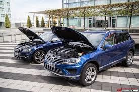 volkswagen touareg blue 2015 volkswagen touareg facelift review gtspirit