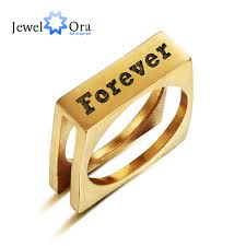 online get cheap engraved wedding rings for men aliexpress personalized stainless steel ring name engrave jewelry for women men wedding party best lover gift