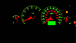 2003 ford focus instrument cluster lights ford focus dash clocks fail and warning lights youtube