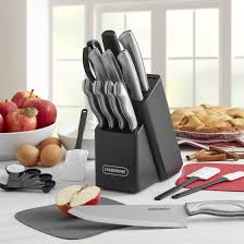 farberware kitchen knives farberware 22 stainless steel knife set with cutting mats