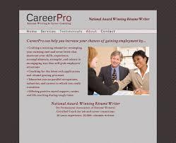 Certified Professional Resume Writers Resume Writer Website