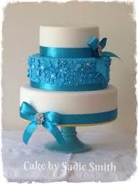 turquoise wedding turquoise wedding cake cake by smith