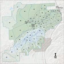 denali national park map denali map and units 1 43 denali national park trails and units