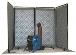 Sound Barrier Curtain Portable Noise Screens Industrial Noise Control