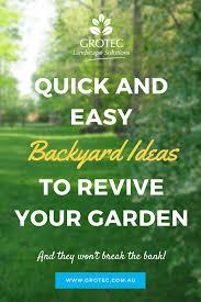 easy backyard ideas grotec landscape solutions