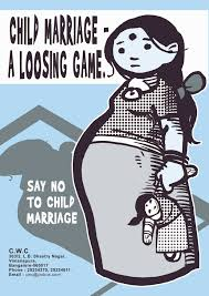 marriage slogans child marriage the concerned for working children