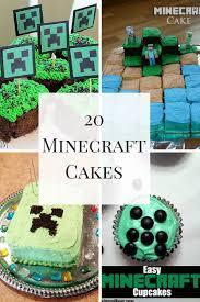 20 minecraft cakes