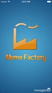 Meme Factory App - meme factory meme generator free app store revenue download