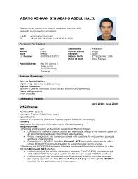 format on how to make a resume investment banking sample cover