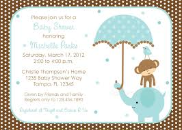 baby boy shower invitations polka dot elephant baby shower invitation boy design