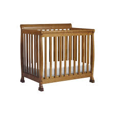 Davinci Kalani Mini Crib Espresso Da Vinci Kalani 2 In 1 Mini Crib And Bed In Chestnut M5598ct