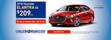 deals on hyundai elantra elyria hyundai and used hyundai cars