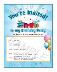 email invitations free e invites for birthday birthday party ideas