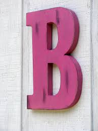 Home Decor Names by Large Wooden Letters Home Decor Rustic Letter B Home Decor