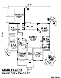 creative home plans creative living 8421 3 bedrooms and 2 5 baths the house designers