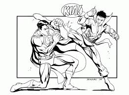hellboy coloring pages superman prints coloring home
