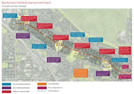 Map Of Canada Showing Calgary by The City Of Calgary Northmount Drive N W Improvement Project