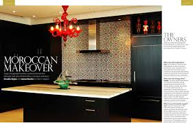 Kitchen Backsplash Toronto Moroccan Tiles The Official Zellij Gallery Blog