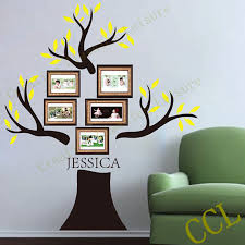 popular wall family tree buy cheap wall family tree lots from large family tree wall decal personalized with family name 190x180cm family tree photo frame