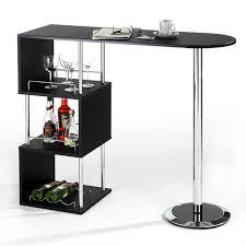 tablette special cuisine mignon bar table haute de vigando 3 tablettes noir chaise